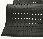 Andersen Mats 413-4-6 Cushion Max Anti-Fatigue Floor Mat w/ Drainage Holes, 4 x 6-ft, Black