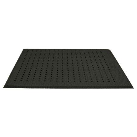 Andersen Mats 413-2-3 Cushion Max Anti-Fatigue Floor Mat w/ Drainage Holes, 2 x 3-ft, Black