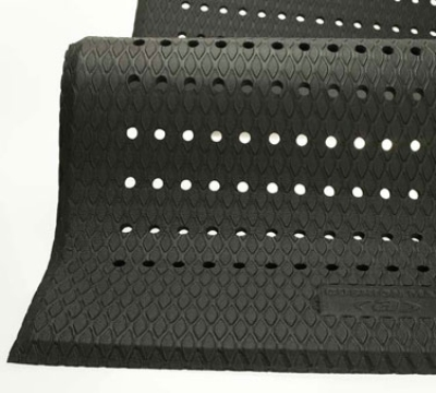 Andersen Mats 414-2-3 Cushion Max Anti-Fatigue Floor Mat, 2 x 3-ft, Black