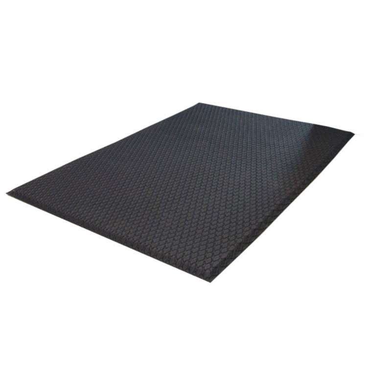 Andersen Mats 414-4-6 Cushion Max Anti-Fatigue Floor Mat, 4 x 6-ft, Black