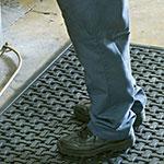 Andersen Mats 420-3-5 Comfort Flow Anti-Fatigue Mat w/ Drainage Holes, 3 x 5-ft, Black