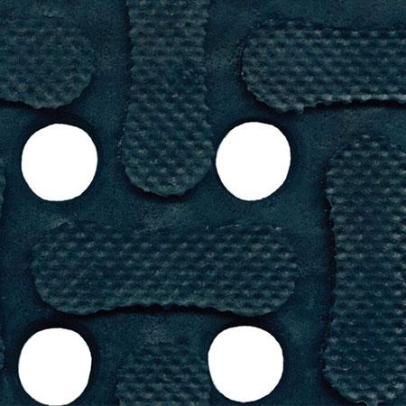 Andersen Mats 420-3-9 Comfort Flow Anti-Fatigue Mat w/ Drainage Holes, 3 x 9-ft, Black