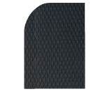 Andersen Mats 422-3-12 7/8-in Thick Hog Heaven Anti-Fatigue Mat, 3 x 12-ft, Black/Black