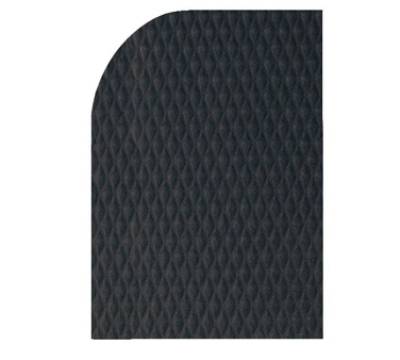 "Andersen Mats 422-2-3 7/8"" Thick Hog Heaven Anti-Fatigue Mat, 2 x 3-ft, Black/Black"