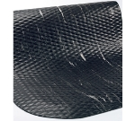 Andersen Mats 448-4-6 5/8-in Thick Marble Top Anti-Fatigue Mat, 4 x 6-ft, Black/Black