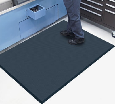 Andersen Mats 494-3-5 Complete Comfort Anti-Fatigue Floor Mat, 3 x 5-ft, Black