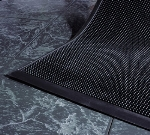 Andersen Mats 874-3-6 Flex-Tip Fingertip Entrance Mat, 3 x 6-ft, Black