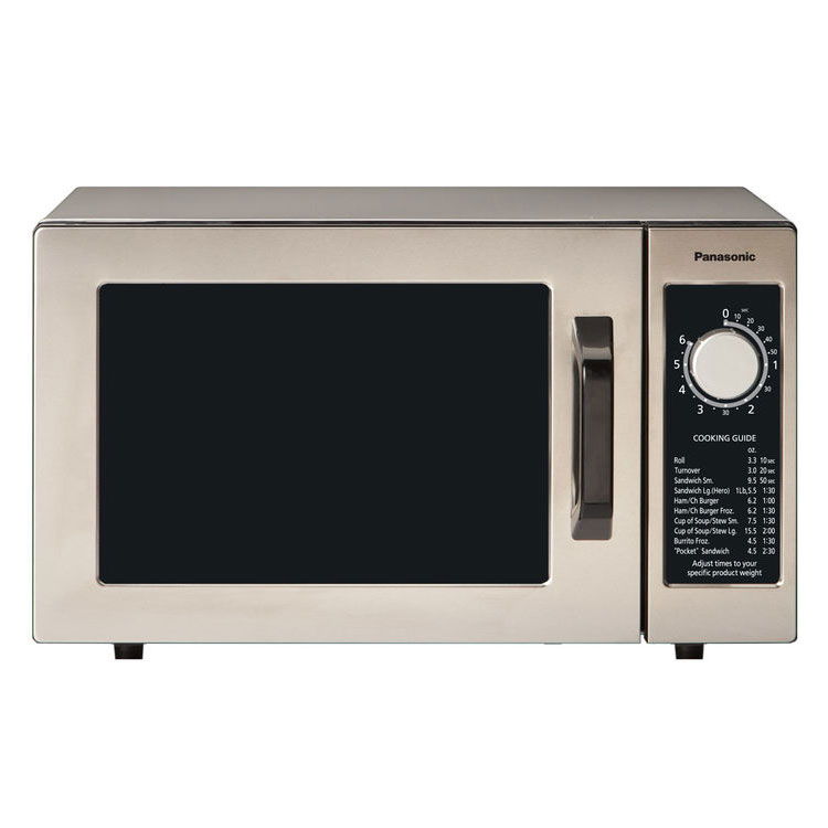 Panasonic Ne 1022f 1000w Commercial Microwave With Dial