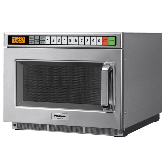 Panasonic NE12521 1200w Commercial Microwave with Touch Pad, 120v