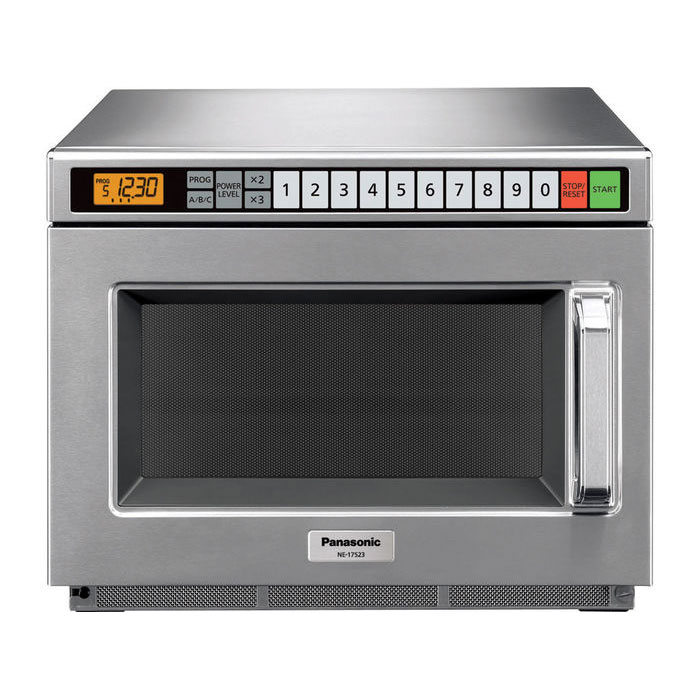 Panasonic NE12523 1200w Commercial Microwave with Touch Pad, 120v
