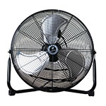 T P I Corporation CF 12 12-in Floor Model Fan w/ 3-Speed Settings