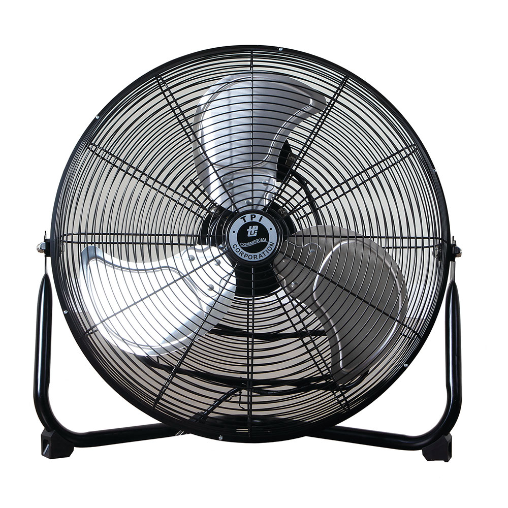 TPI Corporation CF 12 12-in Floor Model Fan w/ 3-Speed Settings