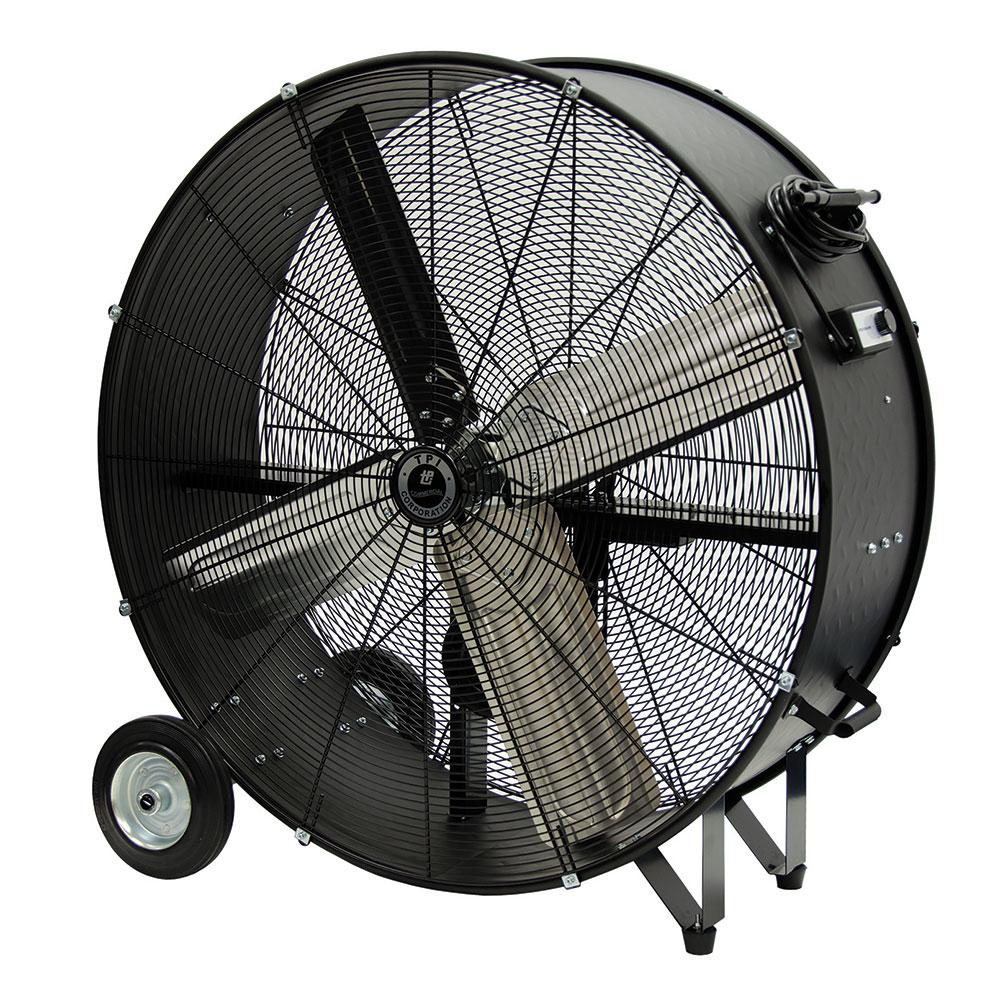 TPI CPBS30-D 30 Portable Drum Fan w/ (2) Speeds - Steel, ...