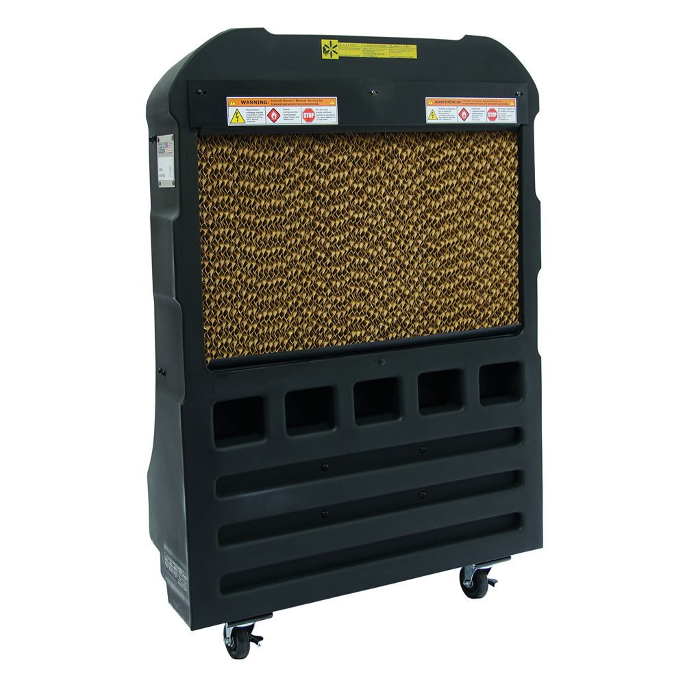 TPI EVAP16-3 16-in Portable Wet Air Cooler w/ 42-Gallon Water Reservoir