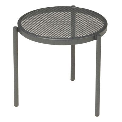 emu 100 Disco Stacking Low Table, Steel Mesh Top, Bronze