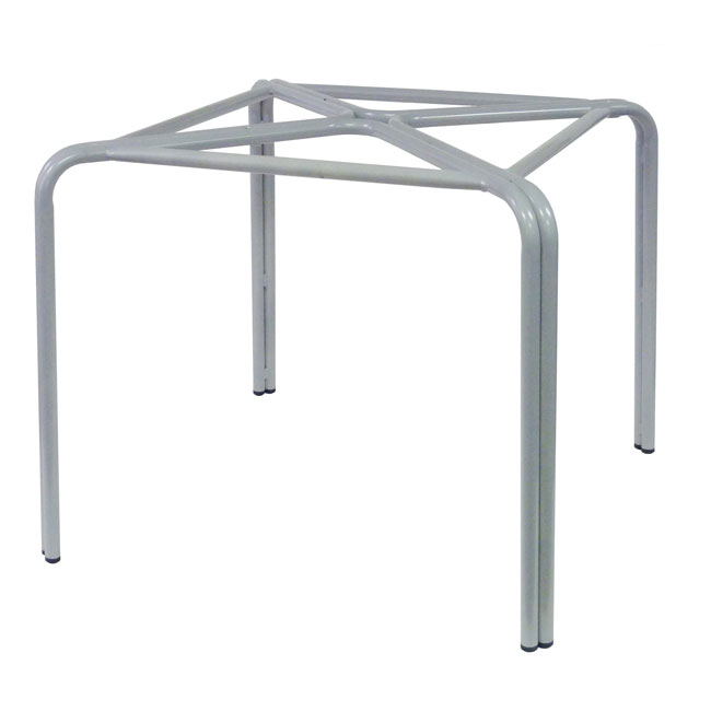 "emu 1341 Zues ADA Table Base, Dining H, 36"" Square, Metal"
