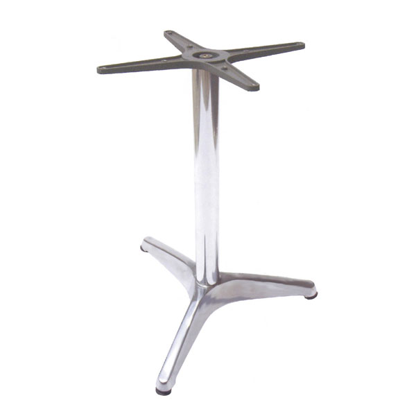 "emu 1358 Max Table Base for 28"" Diameter Tops, Dining H, Aluminum"
