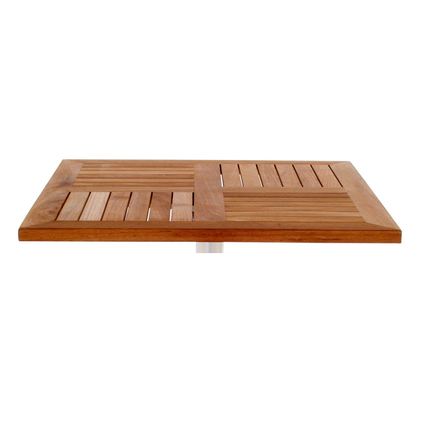 "emu 1453 Tom Table Top, 36"" Square, Natural Teak"