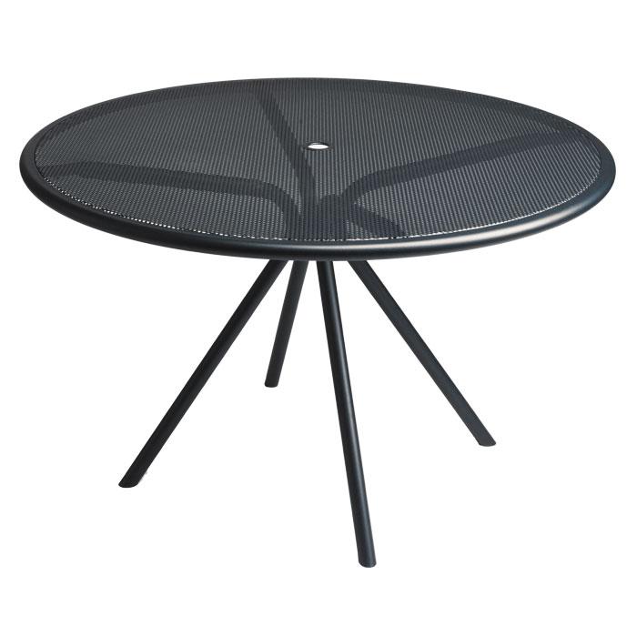 "emu 864 Forte Table, 42""Diameter, Adjustable, Mesh Top, Iron"