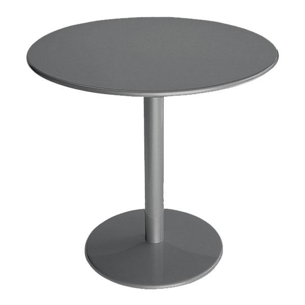 "emu 900 Bistro Table, 24""Diameter, Solid Pedestal & Top, Iron"