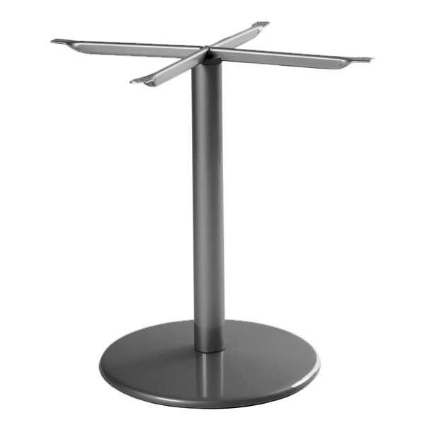 "emu 900BS AIRON Bistro Table Base for 24"" Diameter Tops, Dining H, Iron"