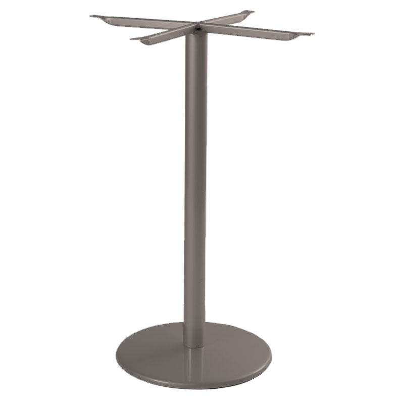 """emu 900HBS Bistro Table Base for 24""""D Tops, Bar Height, Bronze"""