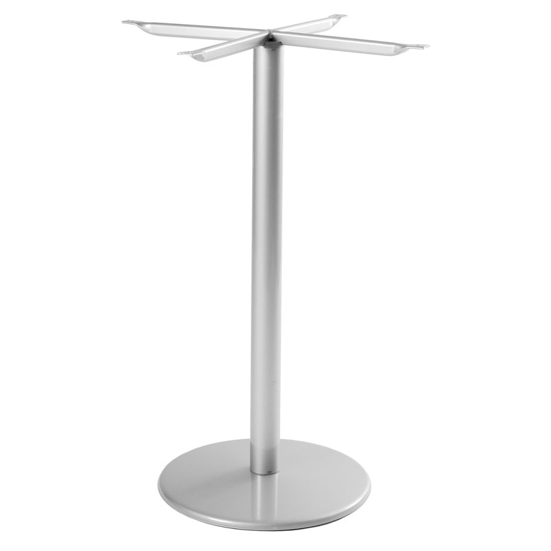 "emu 900HBS ALU Bistro Table Base for 24""D Tops, Bar Height, Aluminum"