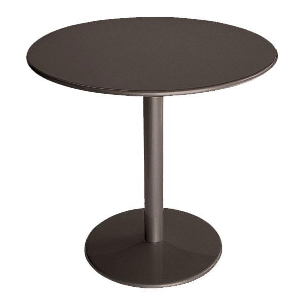 "emu 902 Bistro Table, 32""Diameter, Solid Pedestal, Bronze"