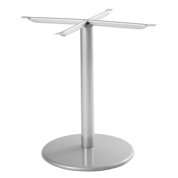 "emu 902BL ALU Bistro Base, Tops Up To 36 D & 32"" Square, Dining H, Aluminum"