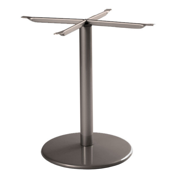 "emu 902BS Bistro Base, Tops Up To 32 D & 28"" Square, Dining H, Bronze"