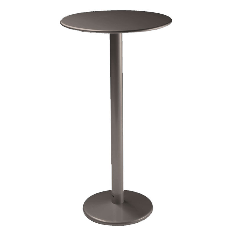 "emu 902H Bistro Bar Table, 32""Diameter, Solid Pedestal, Bronze"