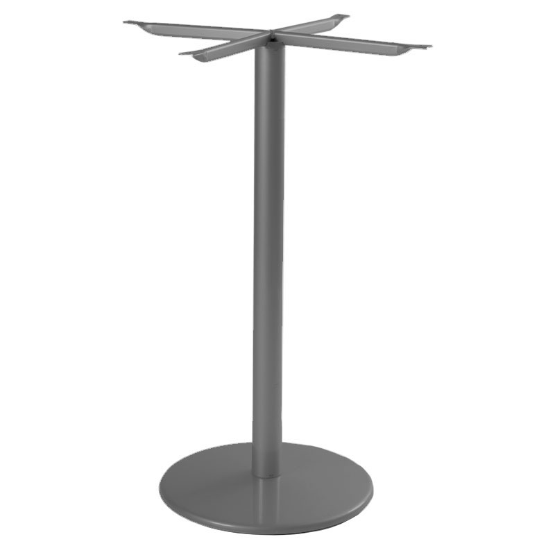 "emu 902HBS AIRON Bistro Base, Tops Up To 32 D & 28"" Square, Bar H, Iron"