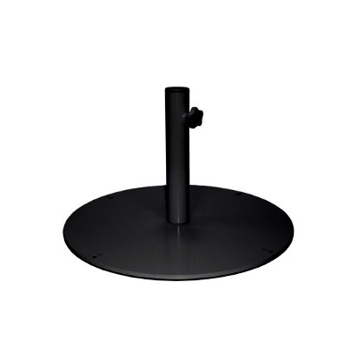 EMU 923 24 Round Shade Umbrella Base - 55-lb, Steel, Black