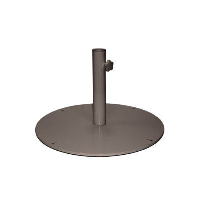 "emu 923 24"" Round Shade Umbrella Base - 55-lb, Steel, Bronze"