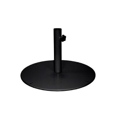 "emu 925 24"" Round Shade Umbrella Base - 105-lb, Steel, Black"