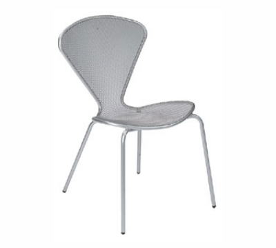 123 Mouse Stacking Side Chair Steel Tubular Frame Iron Restaurant Supply