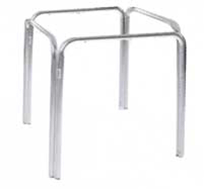 Emuamericas 1341 Zues ADA Table Base, Dining H, 36 in Square, Metal