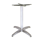 "emu 1350 Max Table Base for 24"" Tops, Dining H, Cast Aluminum"