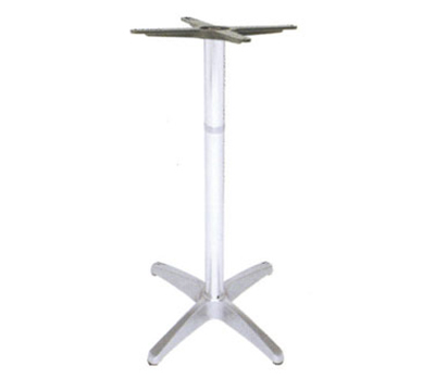 "emu 1356 Max Table Base for 24"" Tops, Bar Height, Cast Aluminum"
