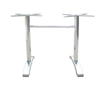emu 1363 Dining Height Table Base w/ 2-Leg Base & 26x26-in Spread, Cast Aluminum