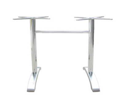 Emuamericas 1363 Dining Height Table Base w/ 2-Leg Base & 26x26-in Spread, Cast Aluminum