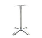 EmuAmericas 1364 Bar Height Table Base w/ 5-Cross Base & 26x26-in Spread, Cast Aluminum