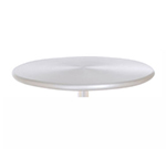 Emuamericas 1462 Sam Table Top, 32 in Diameter, Brushed Aluminum