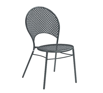 3402HD Sole Heavy Duty Side Chair Stretchers Mesh Iron Restaurant Supply