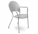 EmuAmericas 3403 AIRON Sole Armchair Steel Mesh Tubular Frame Iron