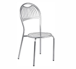 EmuAmericas 354 AIRON Stacking Coupole Side Chair Steel Design Pattern Iron