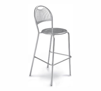 384 Coupole Barstool Steel Design Pattern Iron Restaurant Supply