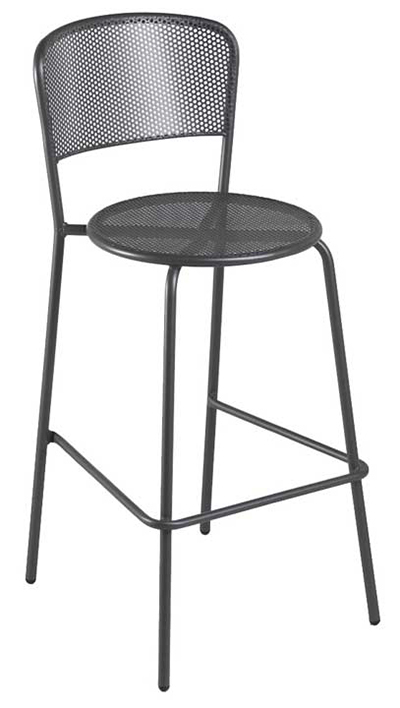 399 Aria Barstool Steel Mesh Tubular Frame Iron Restaurant Supply