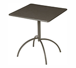 "emu 852 BRONZE Steel Segno Tilt Top Table, 28"" Square, Bronze"