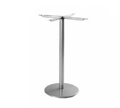 emu 900HBS Bistro Table Base, For 24 in D Tops, Bar Height, Bronze